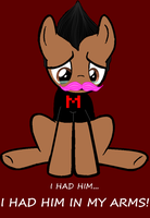 Sad Pony Markiplier by Carleen6