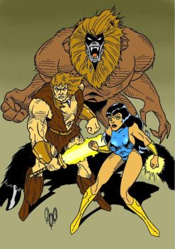 Thundarr The Barbarian by violencejack666
