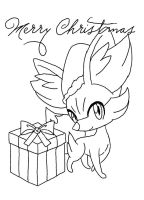 Merry Christmas, Inviseon25 and ExtremeEEVEE by MusicallyMeowstic