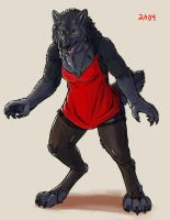 [LS]-Werewolf color test by LudoMercier