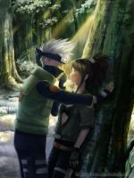 Commission: Kakashi and Chiaku by starca