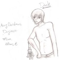 Christmas Present-Dante by Fang-Chan13