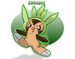 Pokemon - Chespin by lotsofmudkips