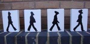 Futurama - Beatles Abbey Road by RAMART79
