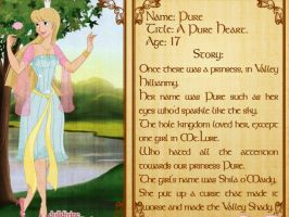 Princess Pure, Her story by Stepzzi