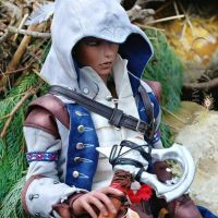 ASSASSINS CREED- Ratohnhaketon aka Connor Kenway 5 by Atelier-Cynamon