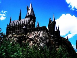 Hogwarts Castle by dreamingstar213