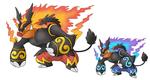 Mega Emboar (Fan coloration) by plzgaiasrebirth
