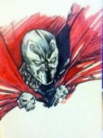 Spawn Sketch by IgorChakal