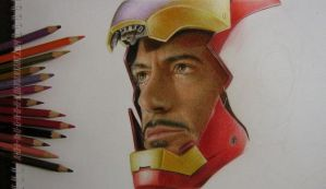Tony Stark Work In Progress by A-D-I--N-U-G-R-O-H-O