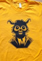 Monkey Demon Redbubble tee by Rustyoldtown