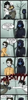|Creepypasta Comic| Is That Yours? by 0ktavian