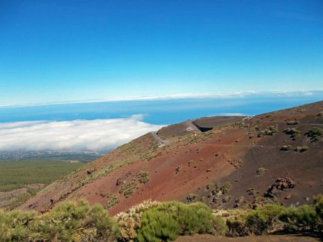 Tenerife, the road to del Teide by lakodar