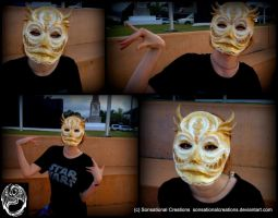 Cult of Flyra Mask - Handmade OOAK Mask by SonsationalCreations