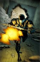 SnakeEyes 6 Cover B by spidermanfan2099