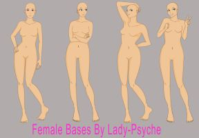 female bases by Lady-Psyche