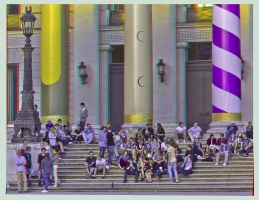 National Theatre Munich ::: Anaglyph HDR 3D by zour
