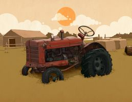 Tractor by Sheharzad-Arshad