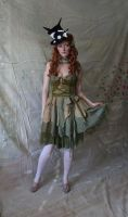 Green Rag Doll 4 by mizzd-stock