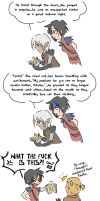 Dragon Age - Teaching Fenris to Read by oranjielub
