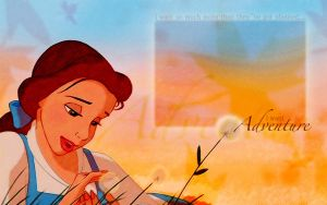 I Want Adventure - Belle by PrinKay