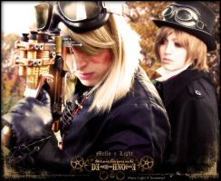 SteamPunk DeathNote MxL by Maru-Light