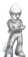 Cyber Controller Chibi by Marker-Mistress
