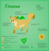 Etaine-Character sheet by lannah