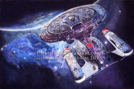 Never Forget the Name Enterprise by ChalkTwins
