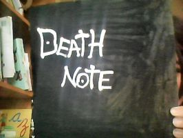 I made a Death Note! by whiteandnerdyXD