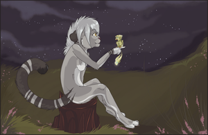 night talking by orum-the-cat