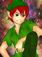 Disney Crush: Peter Pan by tanweenie