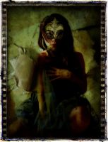 The girl with the Venetian Mask by Wimmeke63