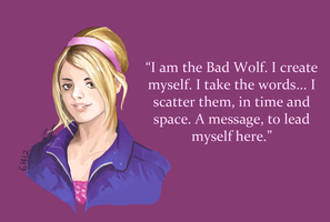 Rose Tyler by RunWolfRun