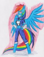 The boss Rainbow dash by dp360