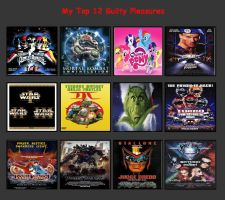 My Top 12 Guilty Pleasures by V1EWT1FUL