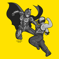 The Dark Knight Rises - Simpsons by MOROTEO56
