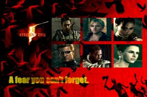 Resident-evil-5-wallpaper-1-1600 by Missemjay
