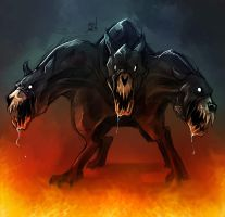 Cerberus by TheRisingSoul