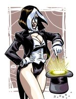 Rogue Zatanna - 20 Dollar Commission by EryckWebbGraphics
