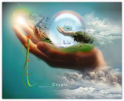 Hand Of The World by CkyGFX