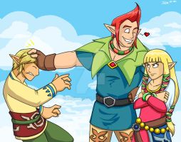 Skyward Sword Fanart by IzIzIza