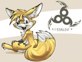 Crest the Fennec by Legacy350