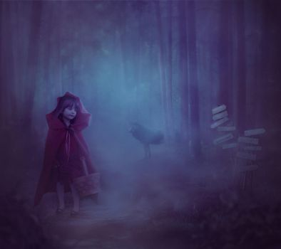 Little Red Riding Hood by HelenaKiss