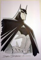 Beware The Batman commission NYCC by DarioBrizuelaArtwork