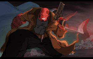Hellboy by pain16