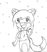 Chibi in the Snow by Michiko559