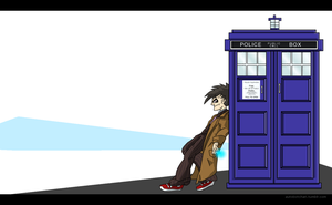 10th Doctor's Just Chillin by autobotchari