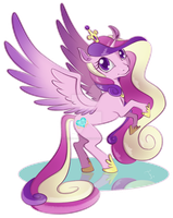 Princess Cadence by feh-rodrigues
