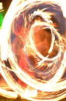 fire swirls by mimose-stock